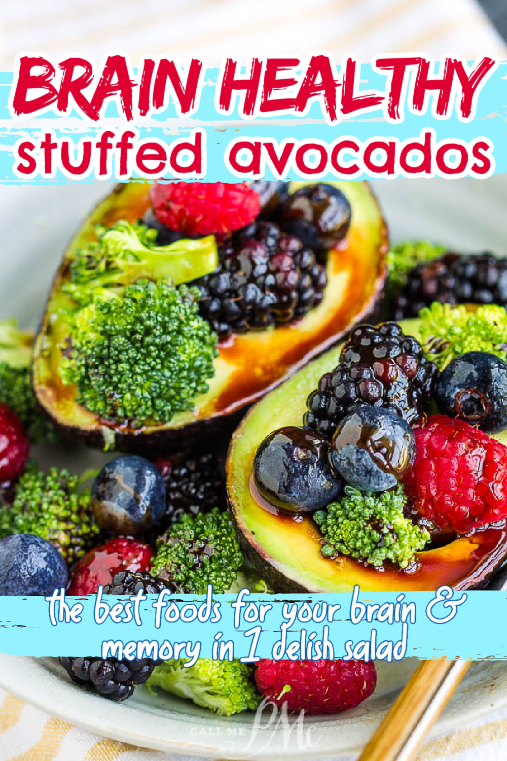 Brain Healthy Stuffed Avocado Salad is nutrient-dense with a lot of vitamins & minerals.