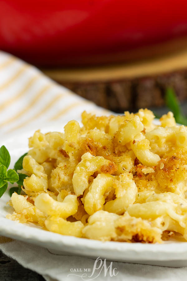Secret Ingredient Creamy Mac and Cheese recipe is the ultimate, cheesy pasta dinner. This comfort food recipe is perfect for a family meal, cozy date night, or special occasion.