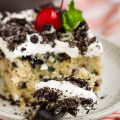OREO POKE CAKE WITH SWEETENED CONDENSED MILK