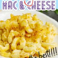 SECRET INGREDIENT CREAMY MAC AND CHEESE