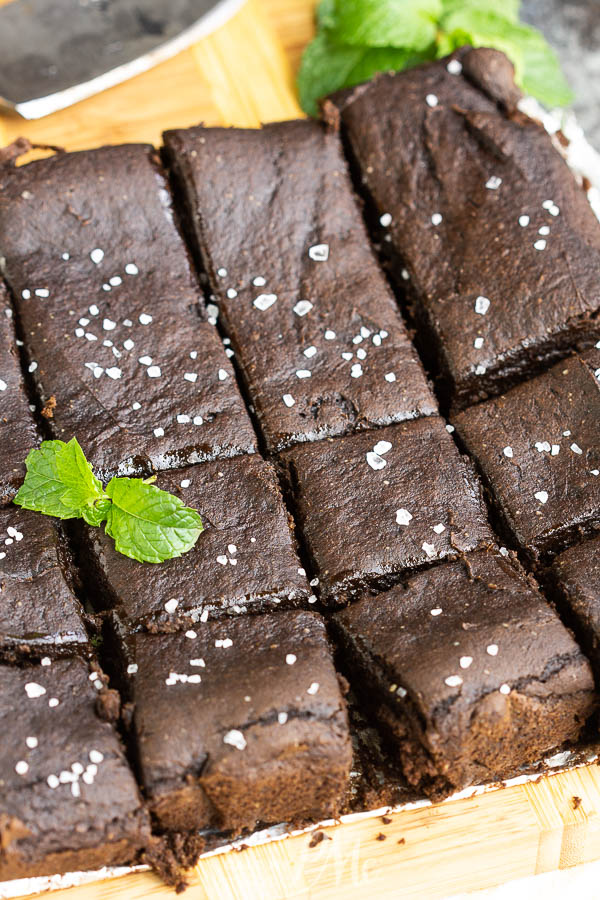 2 Ingredient Pumpkin Brownies are super simple to make with just two ingredients and a few minutes to stir them together.