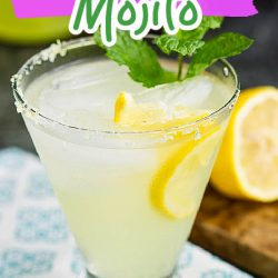 LLimoncello Mojito Cocktail is a light, lemony, refreshing, and delicious drink recipe that has plenty of mint!