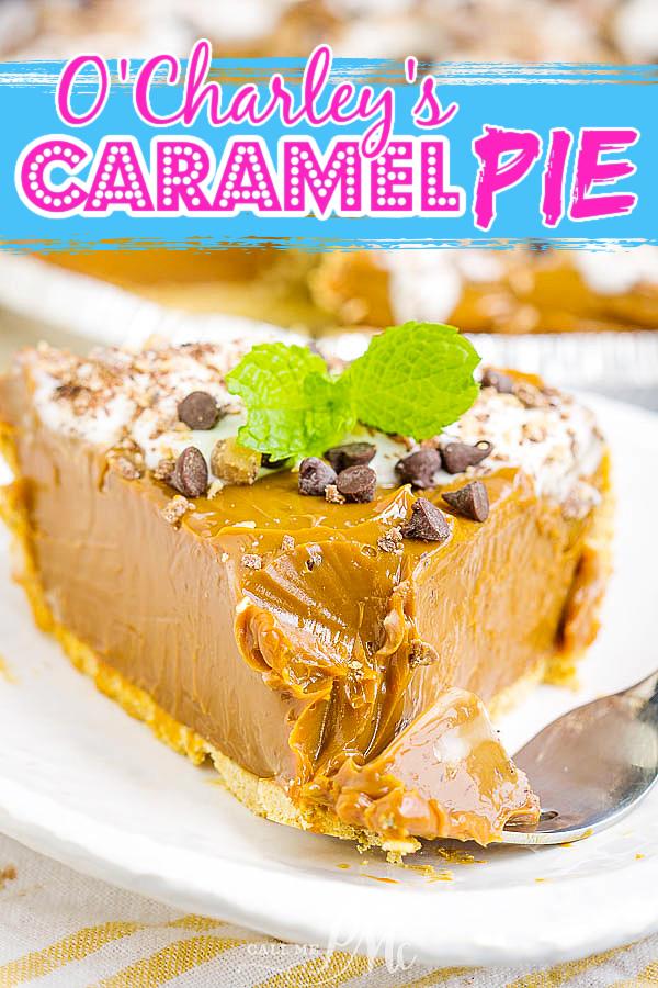 O'Charley's Caramel Pie