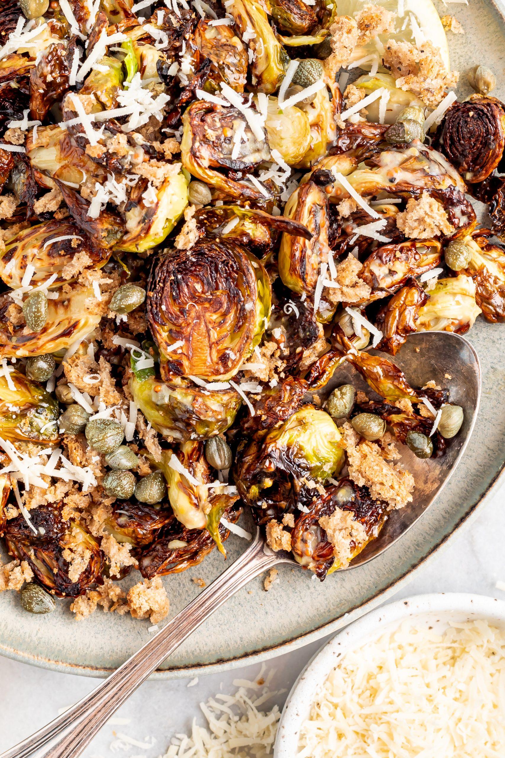 bowl of roasted veggies