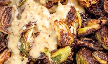 CAESAR ROASTED BRUSSELS SPROUTS RECIPE