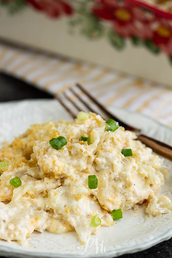 CHEESE CASSEROLE WITH GREEN ONIONS
